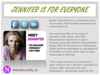 Jennifer Is For Everyone - NewSincerity.us