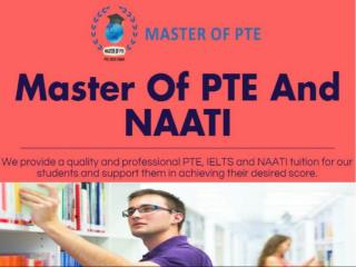 Master Of PTE And Naati