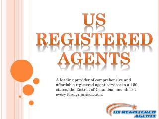 USA Registered Agent