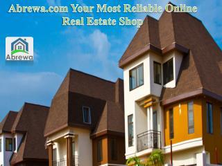 Abrewa.com your Most Reliable Online Real Estate Shop
