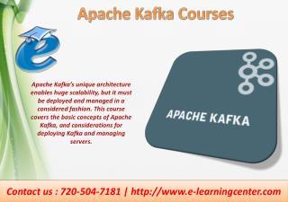 Apache Kafka Courses