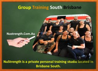 Group Training South Brisbane