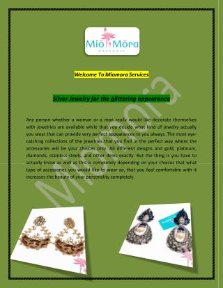 Costume Jewelry, Indian Jewelry - miomora.com