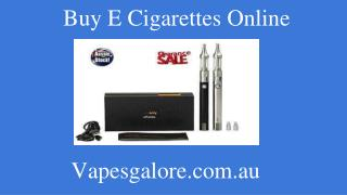 Branded Electronic Cigarettes