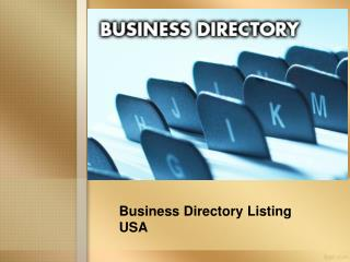 Business Directory Listings USA