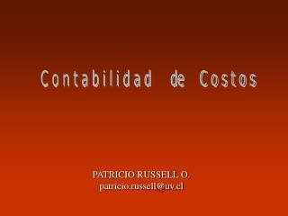 PATRICIO RUSSELL O. patricio.russelluv.cl