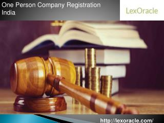 One Person Company Registration India