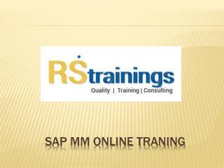 sap mm online training hyderabad