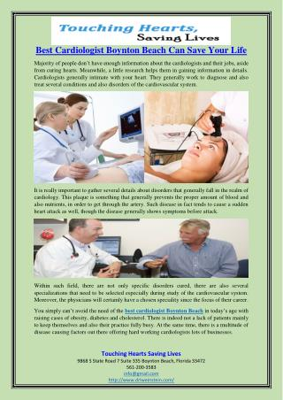 Best Cardiologist Boynton Beach Can Save Your Life