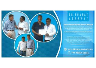 Indian Implantologist Bharat Agravat Received Advanced All-on-Four® Dental Implants Training from Dr. Robert Schroerin