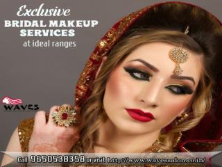 With our bridal makeup services you feel amazing & glamorous on your wedding day & feel that you are the most centric fo