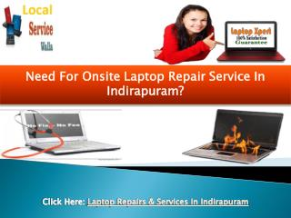 Laptop Repair & Service in Indirapuram (201014) - Onsite Assist