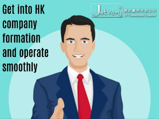 Get into HK company formation and operate smoothly