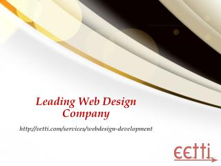 Leading - Web design company