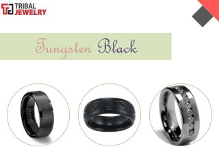 Tungsten Black - Tribal Jewelry