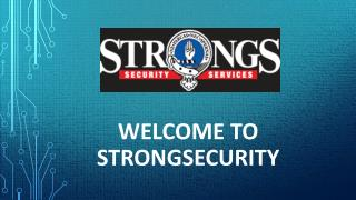 Sydney Security and Safety Services by Strongsecurity