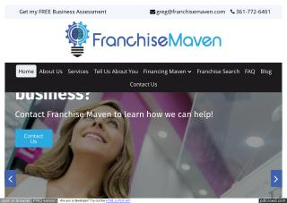 Franchise Opportunities | FRANCHISE MAVEN