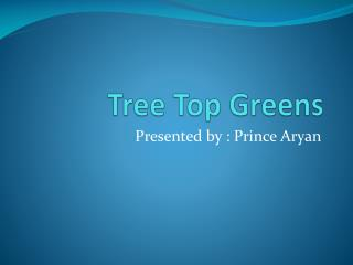 Service Apartments in Gurgaon by Tree Top Greens
