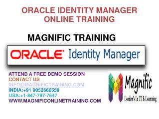 Oracle Identity Management Online Training