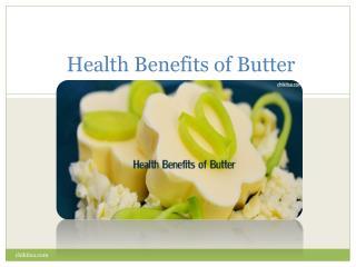 An utterly better life with butter