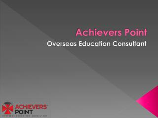 Welcome To Achievers Point