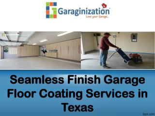 Seamless Finish Garage Floor Coating Services in Texas