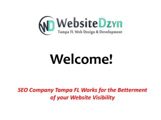SEO Company in Florida Offering Reasonably-Priced Services