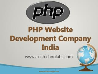 PHP Website Development Company India