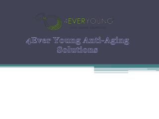 Womens Hormone Therapy Boca - 4Ever Young Anti-Aging Solutions
