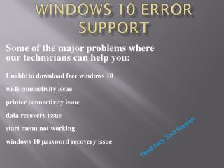 I-8OO 385-4895 Windows 10 Issue Tech Support Phone Number