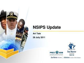 NSIPS Update