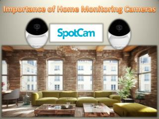 Importance of Home Monitoring Cameras