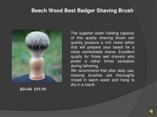 Best Prices Shaving Brush Available Here