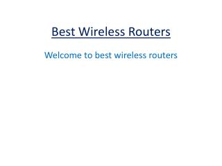 wireless routers reviews