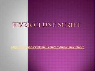 Fiver Clone Script