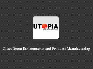 Cleanroom Products Manufacturing