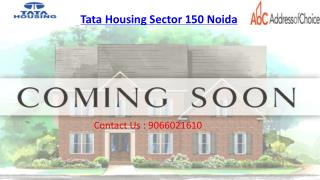 Tata Housing New Project Noida | Call 9066021610 and buy luxurious home
