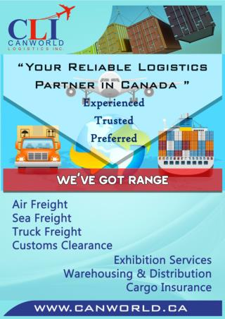 Freight Logistics Inc in Canada
