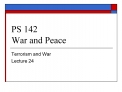 PS 142 War and Peace