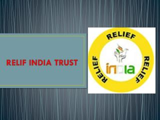 Relif india trust (helping hand)