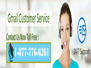 Gmail Customer Care 1-877-776-6261 Overcome Gmail Trouble