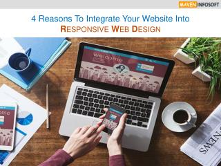 4 Reasons To Integrate Your Website Into Responsive Web Design