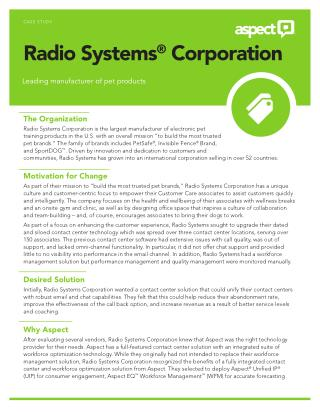 Radio System Corporation for great pet products
