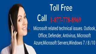 Require Helpline ( 1-877-778-8969) for Outlook Tech Support Phone Number