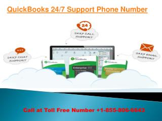 Quickbooks 24/7 support phone number 18558066643 QuickBooks Help-Desk