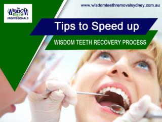 Wisdom Teeth Removal in Sydney - Tips to Recover