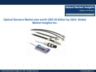 Optical Sensors Market size worth USD 30 billion by 2024
