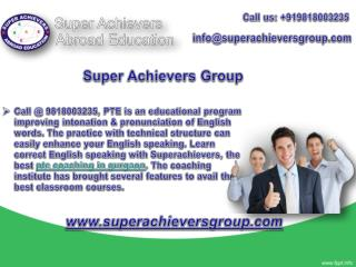 PTE Coaching in Gurgaon for Best English Learning Course