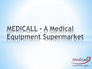 Medicall - Medical Equipment Expo In India