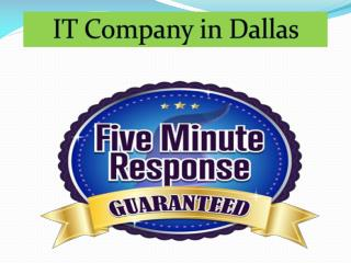IT Company in Dallas